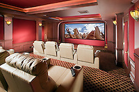 Tiered Seating Private Theater