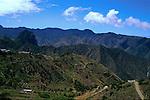 Landscape of La Gomera, Canary Islands,Spain