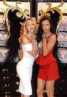 Adriana Lima and Candice Swanepoel at the New Bond Street store - London