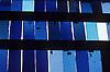 blue mouth blown glass<br /> <br /> vidrio soplado azul<br /> <br /> blaues mundgeblasenes Glas<br /> <br /> Original: 35 mm slide transparency