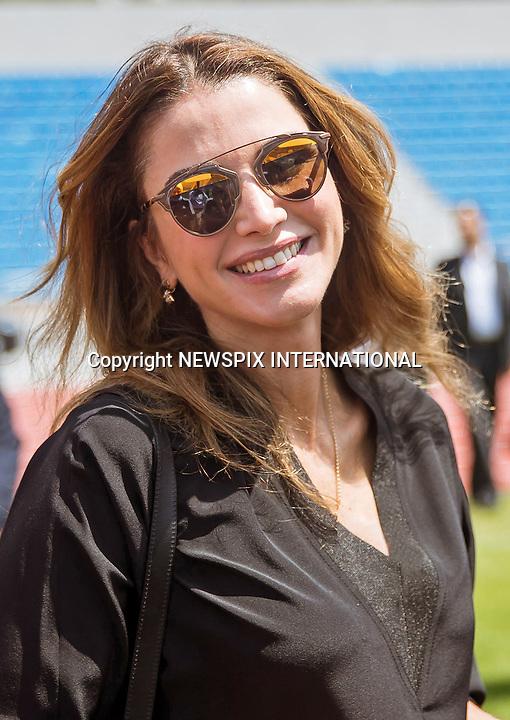 Queen Rania Meets Women's Football Team
