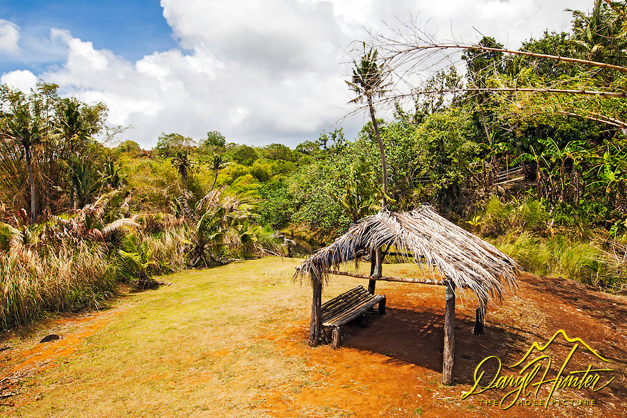 A jungle park on the island of Guam.