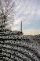 Vietnam Veterans Memorial Washington Monument Washington DC