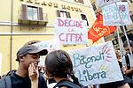 Bagnoli Libera, manifestazione a Roma con De Magistris
