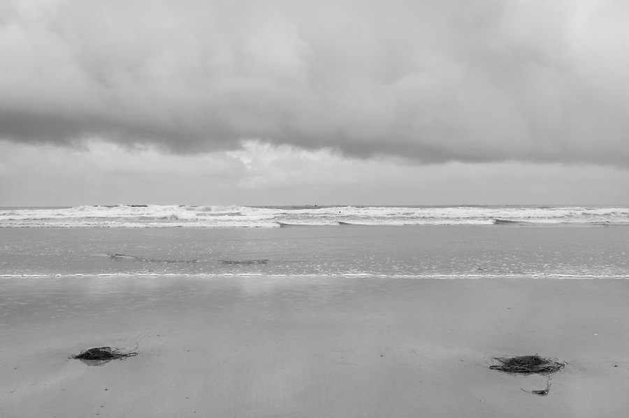 Perranporth Beach, Cornwall, England, was almost deserted, save for a few avid surfers for most of this summer, June, 2012