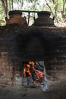 Clay distilled mezcal at Felix Garcia´s ranch and distillery in El Potrero, Oaxaca, Oaxaca, Mexico