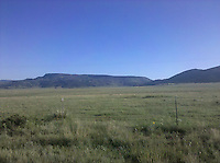 High plains of New Mexico