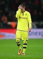 FUSSBALL   1. BUNDESLIGA   SAISON 2012/2013    20. SPIELTAG Bayer 04 Leverkusen - Borussia Dortmund                  03.02.2013 Mario Goetze (Borussia Dortmund)