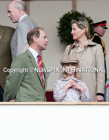 "PRINCE EDWARD, LADY LOUISE WINDSOR and SOPHIE, Countess of Wessex ..The Royal Windsor Horse Show 2011, Windsor_14/05/2011.Mandatory Photo Credit: ©Dias/Newspix International..**ALL FEES PAYABLE TO: ""NEWSPIX INTERNATIONAL""**..PHOTO CREDIT MANDATORY!!: NEWSPIX INTERNATIONAL(Failure to credit will incur a surcharge of 100% of reproduction fees)..IMMEDIATE CONFIRMATION OF USAGE REQUIRED:.Newspix International, 31 Chinnery Hill, Bishop's Stortford, ENGLAND CM23 3PS.Tel:+441279 324672  ; Fax: +441279656877.Mobile:  0777568 1153.e-mail: info@newspixinternational.co.uk"
