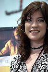 U.S. actress Jennifer Carpenter at a press event in Tokyo, Japan..Photographer:Robert Gilhooly