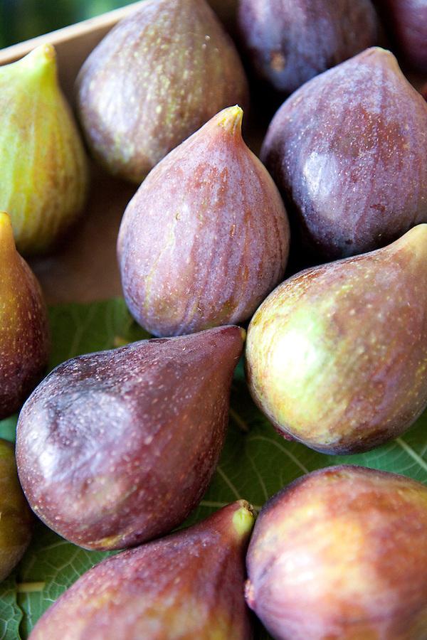 Fresh figs in summer, Matera, Basilicata, ITALY