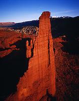 The Titan, Fisher Towers, Utah   Huge sandstone tower near Colorado River,   Moab, Utah  Proposed BLM Wilderness Area