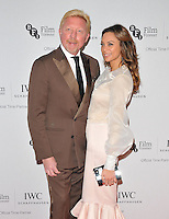 Boris Becker and Lilly Becker at the IWC Schaffhausen Filmmakers Bursary Award &amp; Gala Dinner, Rosewood London Hotel, High Holborn, London, England, UK, on Tuesday 04 October 2016.<br /> CAP/CAN<br /> &copy;CAN/Capital Pictures /MediaPunch ***NORTH AND SOUTH AMERICAS ONLY***
