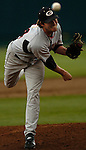 06/17/2006  Georgia starting pitcher Brooks Brown during game 3 of the College World Series in Omaha Nebraska Saturday afternoon..(photo by Chris Machian /Prairie Pixel Group)