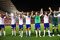 Albirex Niigata team group,..JULY 10, 2011 - Football :..Albirex Niigata players acknowledge fans after the 2011 J.League Division 1 match between Kashima Antlers 1-2 Albirex Niigata at Kashima Soccer Stadium in Ibaraki, Japan. (Photo by AFLO)