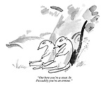 """""""Out here you're a stoat. In Piccadilly you're an ermine."""""""