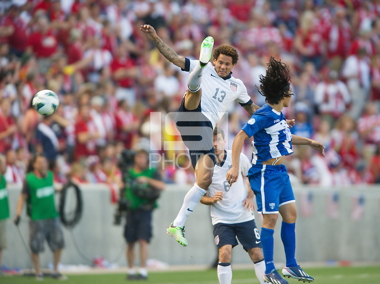 Sandy, Utah - Tuesday, June 18, 2013: USMNT 1-0 over  Honduras at Rio Tinto Stadium during a WC qualifying match.