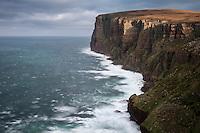 Dramatic coastal cliff of Hoy, Orkney, Scotland