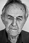 Spanish Civil War and Abraham Lincoln Brigade veteran Hank Rubin, 91, at his home in San Francisco, CA.