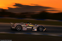 General Motors debuted the Northstar LMP 02 001/Cadillac at Sebring in 2002 with a two-car effort. After qualifying 7th, the machine of Éric Bernard, J.J. Lehto and Emmanuel Collard completed 256 laps and finished 27th.