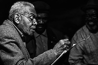 Amiri Baraka @ Bohemian Caverns, WDC 2/25/11-2/26/11