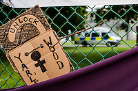 """06.06.2015 - """"Shut Down Yarl's Wood"""" - Protest at the Immigration Removal Centre"""