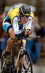 Lance Armstrong rides during stage one of the Angen Tour of California race in Sacramento.   Photo taken Saturday Feb. 14, 2009