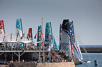 16th October 2011. Extreme Sailing Series 2011 - Act 8. Almeria. Spain..