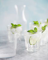 Cucumber and Water