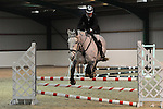 Class 7. 80cm. Unaffiliated showjumping. Brook Farm Training Centre. Essex. 12/02/2017. MANDATORY Credit Ellen Szalai/Sportinpictures - NO UNAUTHORISED USE - 07837 394578