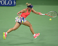 FLUSHING NY- SEPTEMBER 08: Angelique Kerber Vs Caroline Wozniacki on Arthur Ashe Stadium at the USTA Billie Jean King National Tennis Center on September 8, 2016 in Flushing Queens. Credit: mpi04/MediaPunch