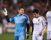Nick Rimando.  D.C. United defeated Real Salt Lake, 1-0, at RFK Stadium.