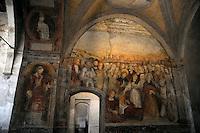 Lugano.La chiesa degli Angioli.