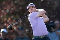 December 4, 2011: Hunter Mahan during the final round of the Chevron World Challenge held at Sherwood Country Club, Thousand Oaks, CA.