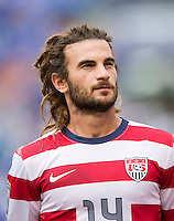 Kyle Beckerman.  The United States defeated El Salvador, 5-1, during the quarterfinals of the CONCACAF Gold Cup at M&T Bank Stadium in Baltimore, MD.