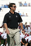 13 October 2007: South Carolina's Quarterbacks Coach and Recruiting Coordinator David Reaves. The University of South Carolina Gamecocks defeated the University of North Carolina Tar Heels 21-15 at Kenan Stadium in Chapel Hill, North Carolina in an NCAA College Football Division I game.