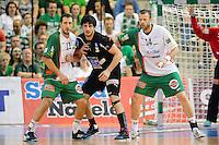 v.l.n.r. Drasko Mrvaljevic (FAG), Benjamin Afgour (DHB), Dalibor Anusic (FAG)