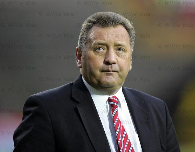 Jimmy Calderwood, Dunfermline.stock season 2003-2004.pic willie vass