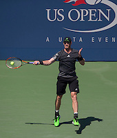 ANDY MURRAY (GBR)<br /> The US Open Tennis Championships 2014 - USTA Billie Jean King National Tennis Centre -  Flushing - New York - USA -   ATP - ITF -WTA  2014  - Grand Slam - USA  25th August 2014. <br /> <br /> &copy; AMN IMAGES