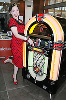 8/12/2010. Imelda May. Dublin Native and international music sensation Imelda May is pictured at the launch of MusicHub from eircom. Picture James Horan/Collins