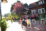 Joyous seasonal melodies by the Schola Cantorum chorus, above,welcome visitors to the Holiday Celebration at the J. Gilbert Smith House Nov. 14.