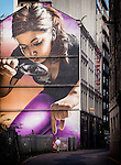 Street art, Glasgow, Scotland, UK