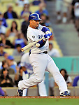 22 July 2011: Los Angeles Dodgers shortstop Rafael Furcal in action against the Washington Nationals at Dodger Stadium in Los Angeles, California. The Nationals defeated the Dodgers 7-2 in their first meeting of the 2011 season. Mandatory Credit: Ed Wolfstein Photo