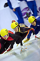 Takahiro Fujimoto (JPN),  FEBRUARY 2, 2011 - Short Track : the men's 1000m qualification skating event during the 7th Asian Winter Games in Astana, Kazakhstan, Feb. 2, 2011. (Photo by AFLO) [0006]