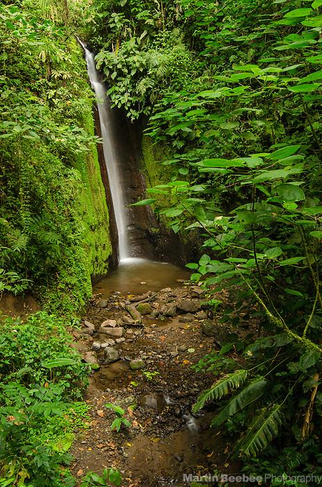 Waterfall in the Arenal area, near El Castillo, Costa Rica