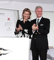 Prince Philippe & Princesse Mathilde au Royal Sailing Club de Zeebrugge - Belgique