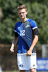 28 August 2016: UNC Asheville's Ben Chapal. The Duke University Blue Devils hosted the University of North Carolina Asheville Bulldogs at Koskinen Stadium in Durham, North Carolina in a 2016 NCAA Division I Men's Soccer match. Duke won the game 5-1.
