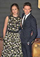 Hannah Bagshawe and Eddie Redmayne at the &quot;Fantastic Beasts and Where to Find Them&quot; European film premiere, Odeon Leicester Square cinema, Leicester Square, London, England, UK, on Tuesday 15 November 2016. <br /> CAP/CAN<br /> &copy;CAN/Capital Pictures /MediaPunch ***NORTH AND SOUTH AMERICAS ONLY***