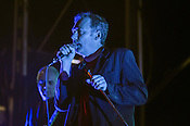The Jesus & Mary Chain headlined the first night at City Plaza during the Hopscotch Music Festival in Raleigh, NC on September 7, 2012.