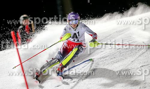 13.01.2015, Hermann Maier Weltcupstrecke, Flachau, AUT, FIS Weltcup Ski Alpin, Flachau, Slalom, Damen, 1. Lauf, im Bild Michaela Kirchgasser (AUT) // Michaela Kirchgasser of Austria in action during 1st run of the ladie's Slalom of the FIS Ski Alpine World Cup at the Hermann Maier Weltcupstrecke in Flachau, Austria on 2015/01/13. EXPA Pictures © 2015, PhotoCredit: EXPA/ Johann Groder
